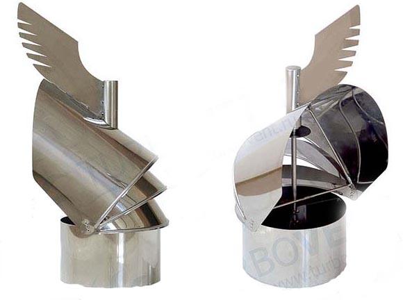 Дефлекторы на дымоход самара на сколько должен выступать из стены коаксиальный дымоход